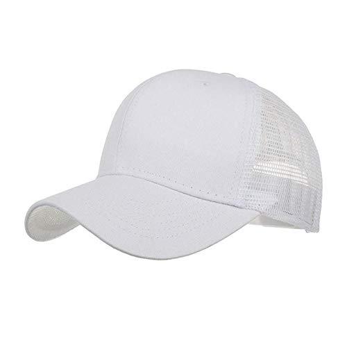 Yidajiu Zonnehoed voor modieuze vrouwen mannen zomer Solid Cap hoed Baseball hoed schaduw mode H