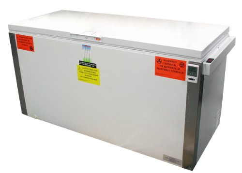 Summit VLT2250IB: Laboratory chest freezer capable of -35(degree) C (-31(degree) F)operation with dual blue ice banks and extra large storage capacity