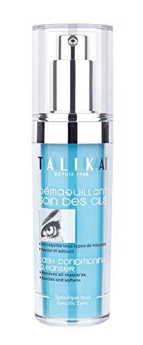 Talika Lash Conditioning Cleanser Augenmakeup Entferner Gel für Empfindliche Augen - Sanfter Make Up Entferner für Wasserfestes Make Up - Ohne Abspülen - 50 ml