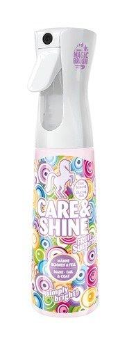 Magic Brush - zorg & glans paard Mane & staartspray Fruit verrassing x 300 Ml