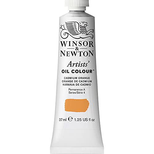 Winsor & Newton 1214089 Artists' Oil Color Paint, 37-ml Tube, Cadmium Orange