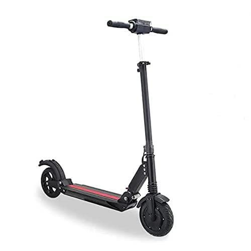 CNSturgeon DWjoy Patinete eléctrico A9, Scooter Eléctrico Plegable 350W - Batería 6AH - Neumáticos de 8'- Pantalla LCD - MAX Velocidad 25 km/h - Autonomía ilimitada hasta 25 km E-Scooter