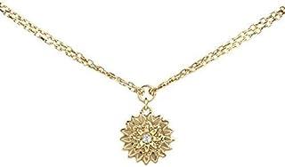 Guess Flower Bracelet for Women, Gold Plated - UBB51495N