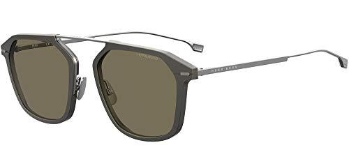 Hugo Boss Boss 1134/S, Gafas de Sol Hombre, Grigio Opaco, 55