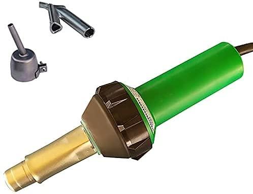 WSVULLD Soldador de plástico 1600W Pistola de Soldadura de Aire Caliente 220V / 110V 20-700  260L / minise 65DB PP Barra de Soldadura PVC PVC de plástico de plástico de plástico Pistola de Soldadura