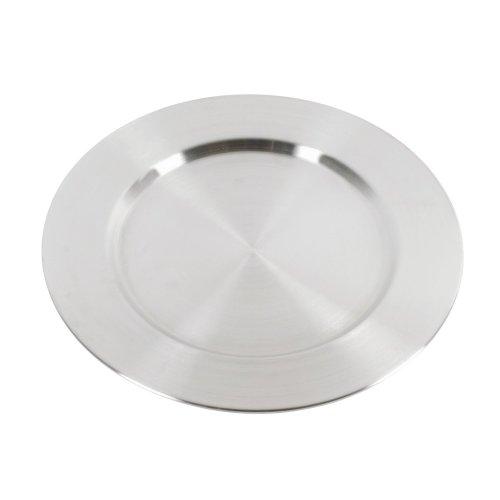 APS Platzteller 31cm rund, Edelstahl, Silber, 28 x 28 x 30 cm