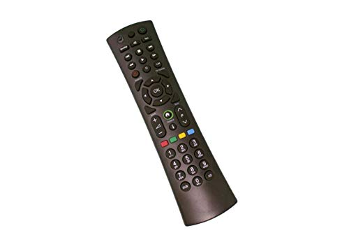 TV TECH Fern Replacement Control (kompatibel) Mit Humax HDR-1010S, HB-1000S, HDR-1000S, HB-1100S, HDR-1100S | Arris UHD-4X, UHD-X | Freesat 4K | Powerpoint DXD7025SVC