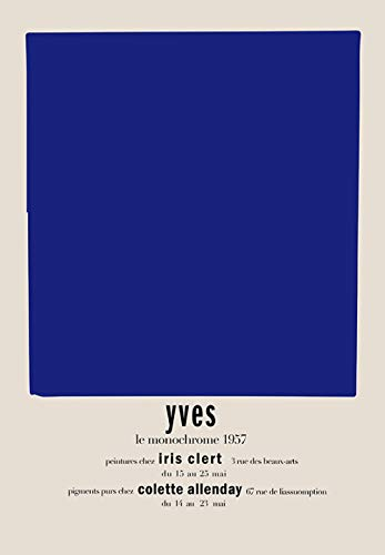 YWOHP Abstracto Azul Arte nórdico Lienzo Pintura Mural Cartel impresión Mural Sala de Estar Dormitorio decoración de la Pared del hogar Cuadros Decor-20X30