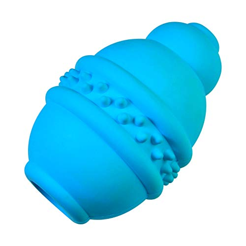 LA TALUS Classic Dog Toy - Dog Chew Toys for Aggressive Chewer Indestructible Interactive Food Grade Natural Rubber Dog Chew Toy for Large Medium Small Dogs Tooth Clean