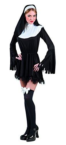 Boland- Suora Sexy Costume Donna per Adulti, Nero/Bianco, M, 83817
