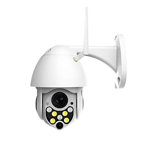 Wireless camera Cámara De Seguridad Inalámbrica 1080P, Red De Seguridad De Máquina De Bolas Impermeable Al Aire Libre PTZ De 360 Grados Cámara De Vigilancia WiFi HD Intercomunicador De Voz Dual