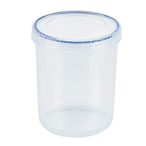 Lock & Lock runde Behälter, transparent, plastik, farblos, 1 l