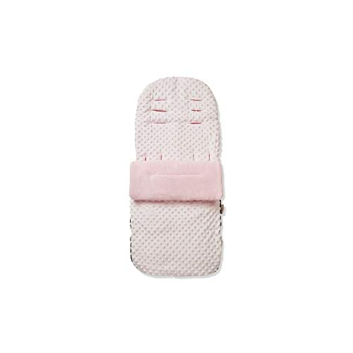 Dimple Pushchair Footmuff/Cosy Toes Compatible with Joie Mytrax - Black