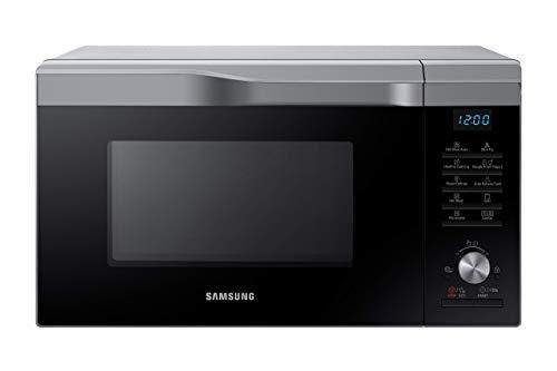 Samsung MW6000M MC2BM6035CS/EG Kombi-Mikrowelle mit Grill und Heißluft / 900 W / 28 L Garraum (Extra groß) / 51,7 cm Breite / HotBlast-Technology / SlimFry / silber / E-Commerce Verpackung