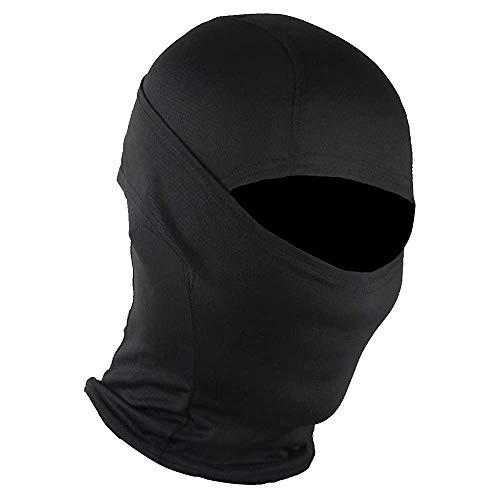 ZWOOS Sturmhaube Gesichtsbedeckung, Vollgesichtsbedeckung für Motorrad, Ski, Radfahren - atmungsaktiv, UV-Schutz, staubdicht