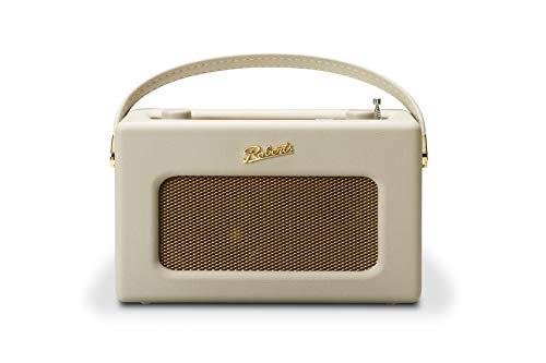 Roberts Revival iStream 3 Midnight - Radio (Dab+ / FM/Amazon Music/Spotify/Tidal/Deezer/USB + Radio por Internet) Vintage Crema Pastel.