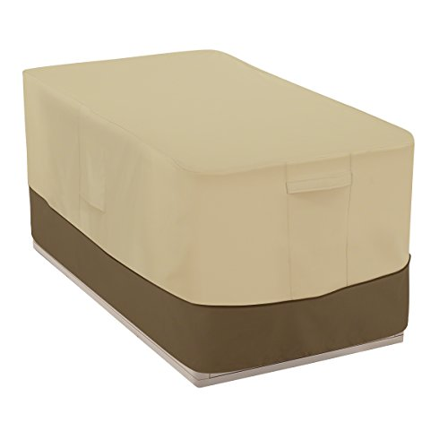 Classic Accessories Veranda Water-Resistant 55 Inch Patio Deck Box Cover
