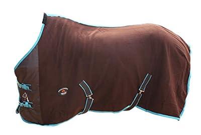 """Challenger Horsewear 78"""" Horse Sheet Polar Fleece Cooler Exercise Blanket Wicks Moisture 4386"""