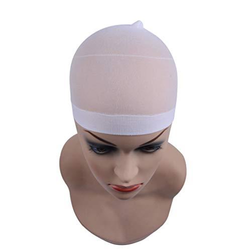 Filet De Cheveux De Chapeau De Perruque, 36Pcs Filet De Cheveux De Chapeau De Perruque De Haute Qualité, Utilisé Pour Les Cheveux Tressés,Blanc