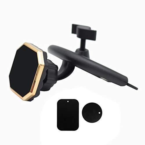 JENOR - Soporte magnético para teléfono móvil para iPhone, Samsung, Xiaomi, Huawei tamaño único dorado