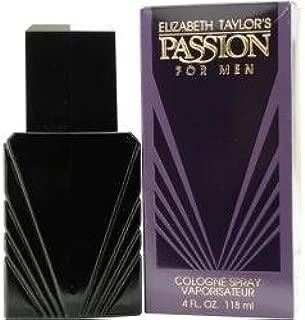 Passion By Elizabeth Taylor Cologne Spray 4 Oz For Men