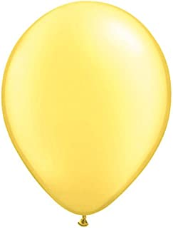 16インチ( 50ct。)-pearlレモンQualatexラテックスバルーン