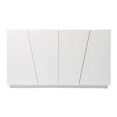Miliboo - Buffet design laccato bianco opaco ALESSIA
