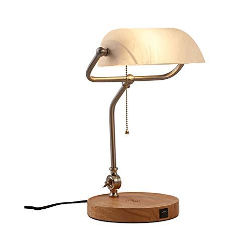 lámpara de escritorio Lámpara de escritorio de lectura Oficina de Aprendizaje del USB del escritorio de la lámpara de iluminación de carga Protección de los ojos una luz suave luz tridimensional lámpa