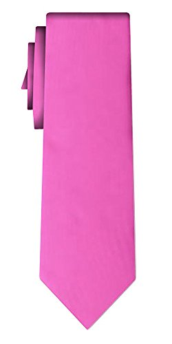 Cravate unie solid fuchsia VII
