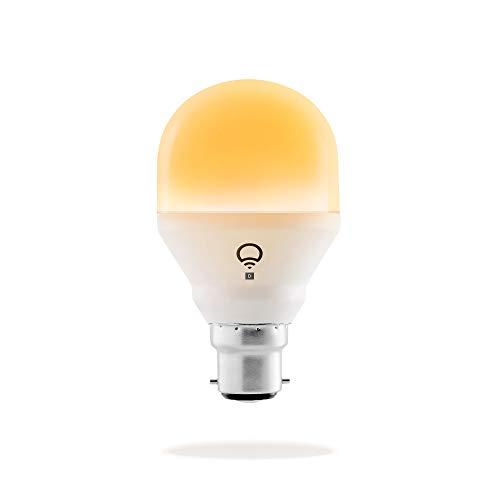 LIFX Mini Day & Dusk B22 Lampadina a LED Wi-Fi Smart, Regolabile, Multicolor, Dimmerabile, non Richiede un Hub, Funziona con Alexa, Apple HomeKit e Google Assistant