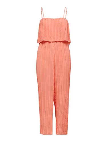 ONLY Female Jumpsuit Pleated 38Terra Cotta