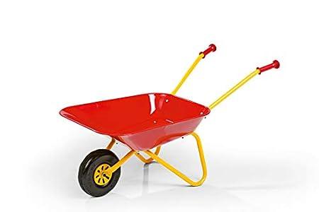 Rolly Toys 270804 - Carretilla de metal de juguete, color rojo
