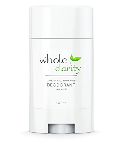 All Natural Deodorant for Men and Women (Unscented)