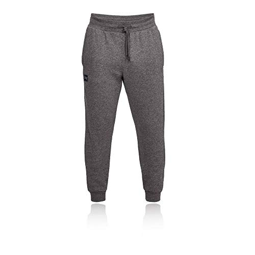 Under Armour Herren UA Rival Fleece Jogginghose, leichte Sporthose, komfortable und bequeme hose mit loser Passform, Grau (Charcoal Light Heath/Black 020), L