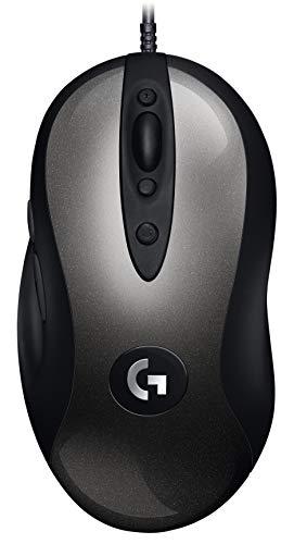 Mouse Gamer Logitech MX518 com Design Clássico e Sensor HERO 16K