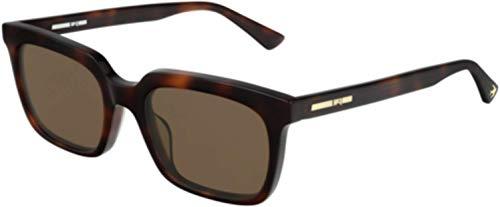 Alexander McQueen MQ 0191 S- 002 Havana - occhiali da sole, colore marrone
