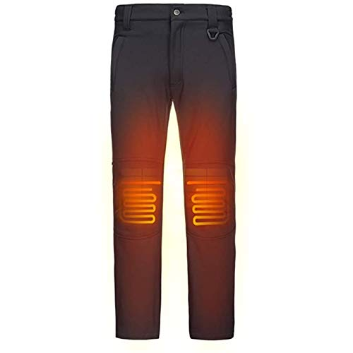 Pantalones con calefacción inteligente de calefacción mantiene caliente rodilla y previene la osteoporosis algodón y rodilleras suaves garantizan la circulación normal de la sangre en la rodilla