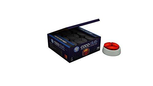 18pcs FREE COCOURTH Coals FIREROCKS Hookah Charcoal Coco Burner 1500 Watt Hot Plate Shisha Tongs