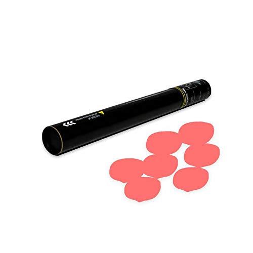EUTOPICA Cañón Confeti Pétalos para Boda Manual 50 cm (Rojo Biodegradable) | 24/48H laborables | #WeLoveConfetti