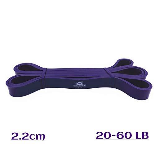 Mdsfe Pullo-Up Assistance weerstandsbanden elastisch expander banden van rubber trainingsuitrusting voor gewichtshendel Purple-a588