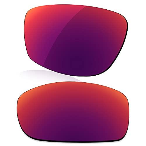 LenzReborn Polarisierte Linse Ersatz für Oakley Jawbone Sonnenbrille, Royal Purple – polarisiert, verspiegelt, Einheitsgröße