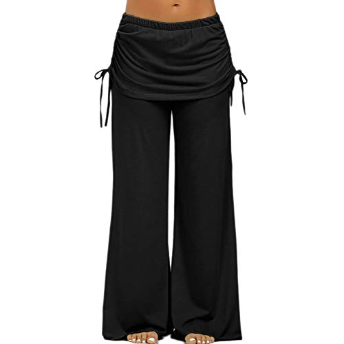NSYJK yogabroek zomer vrouwen yoga broek digitale druk losse wijde been broek yoga broek losse harem yoga broek