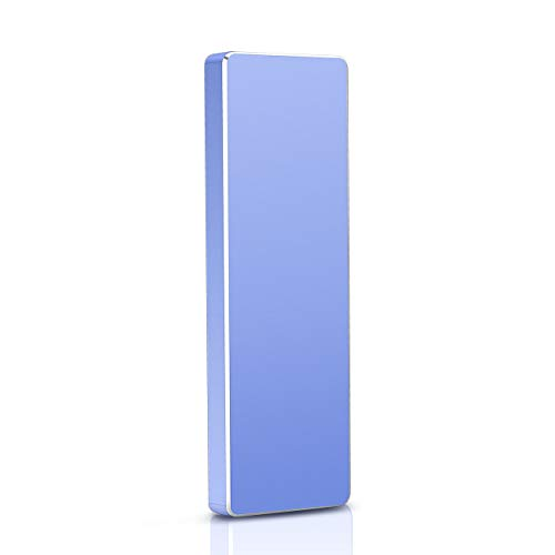 2TB External Hard Drive Portable Hard Drive USB 3.1 Gen 1, Ultra Slim Hard Drive External Type-C HDD, Compatible with Mac Xbox One and PC-2TB Hard Drive,BL