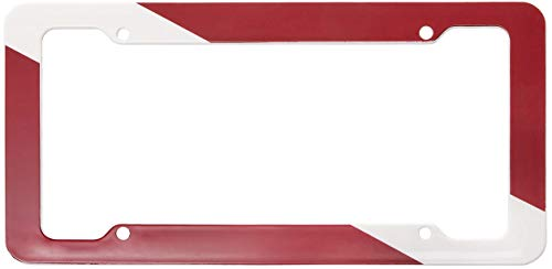 Trident Scuba Diving License Plate Frames Dive Flag