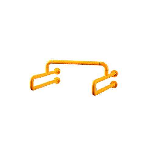Ljf Pasamanos del urinario del baño Pasamanos del Inodoro accesible para Personas Mayores discapacitados Pasamanos del Inodoro Inodoro accesible (Color : White, Size : B Not Luminous)