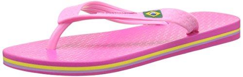Ipanema Classic Brasil II Kids, Tongs Mixte Enfant, Rose (Pink), 37 EU