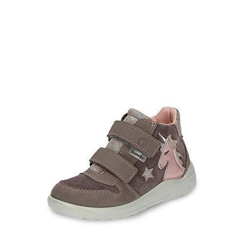 RICOSTA Fille Bottes & Boots Fanny, Bottes d'hiver pour Enfants, Chaussures d'extérieur,imperméables,Meteor,31 EU / 12 UK