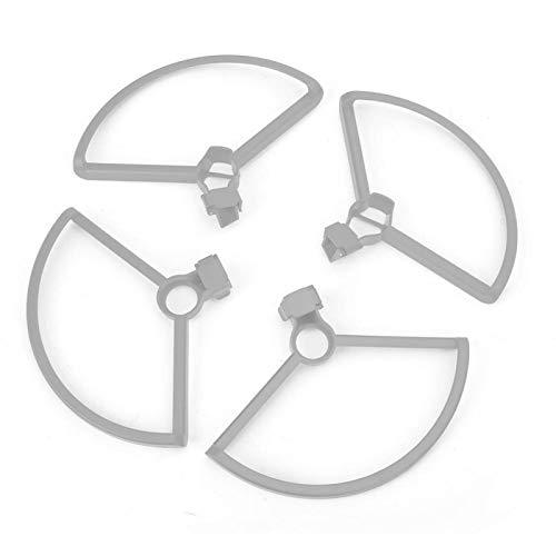 minifinker Drone Blade Protector Diseños de liberación rápida Anillo de protección de la Hoja de la hélice para dji Mini RC Drone(Grey)