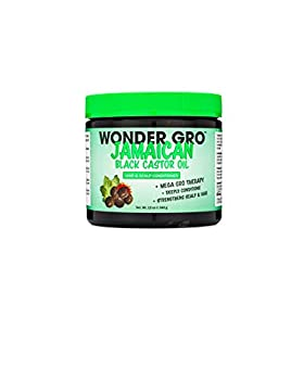 Jamaican Black Castor Oil Hair Grease Styling Conditioner 12 fl oz - Great for Strengthening - Mega Hair Growth Therapy by Wonder Gro