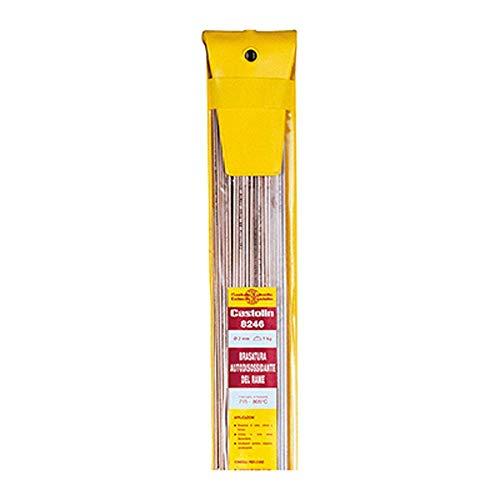 Castolin Aleación Cobre FOSFORO 8246 Diámetro 2,0 mm Paquete 1 x 1 kg